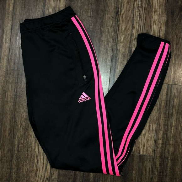 Adidas Climalite 3 Stripe Track Pants